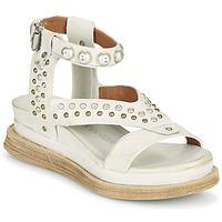 Chaussures Femme Sandales et Nu-pieds Airstep / A.S.98 LAGOS STUD Gris / Beige