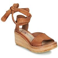 Chaussures Femme Sandales et Nu-pieds Airstep / A.S.98 NOA LACE Camel