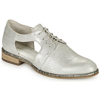 Chaussures Femme Derbies Regard GORBIO Argenté