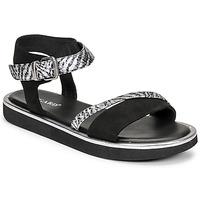 Chaussures Femme Sandales et Nu-pieds Regard ANGERS Noir