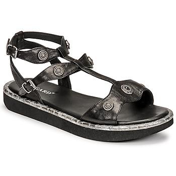 Chaussures Femme Sandales et Nu-pieds Regard ANGLET Noir