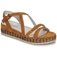 Chaussures Femme Sandales et Nu-pieds Regard CLAIRAC Marron