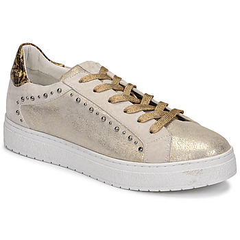 Chaussures Femme Baskets basses Regard HAVRES Doré