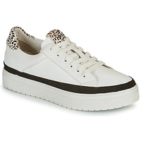 Chaussures Femme Baskets basses Regard HENIN Blanc / Noir