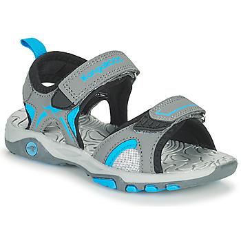 Chaussures Enfant Sandales et Nu-pieds Kangaroos K-MONT Gris / Bleu