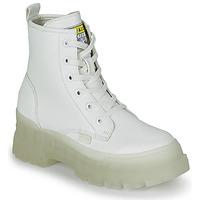Chaussures Femme Boots Buffalo ASPHA RLD Blanc