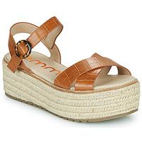 Chaussures Femme Sandales et Nu-pieds Emmshu NESA Cognac