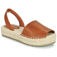 Chaussures Femme Sandales et Nu-pieds Emmshu LUZIA Cognac