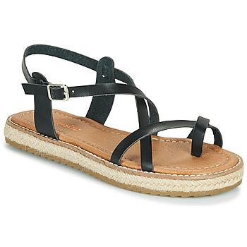 Chaussures Femme Sandales et Nu-pieds Emmshu ALTHEA Noir