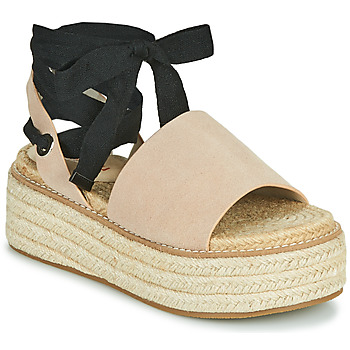 Chaussures Femme Sandales et Nu-pieds Emmshu SEARA Sable
