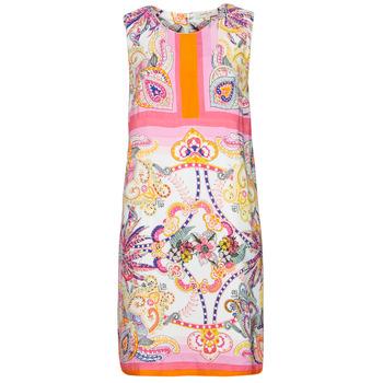 Vêtements Femme Robes courtes Derhy SEOUL Rose/Multicolore