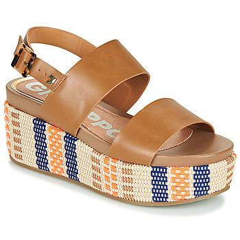 Chaussures Femme Sandales et Nu-pieds Gioseppo COWLEY Cognac