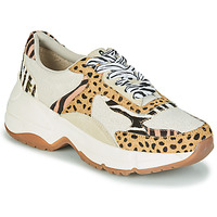Chaussures Femme Baskets basses Gioseppo FORMIA Blanc / Leopard