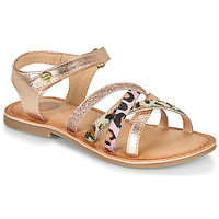 Chaussures Fille Sandales et Nu-pieds Gioseppo VERONA Rose Gold