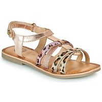 Chaussures Fille Sandales et Nu-pieds Gioseppo PALMYRA Rose Gold