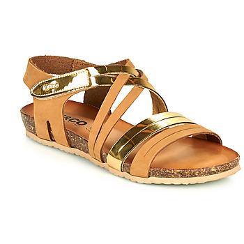 Chaussures Femme Sandales et Nu-pieds IgI&CO DREZZINA Cognac / Doré