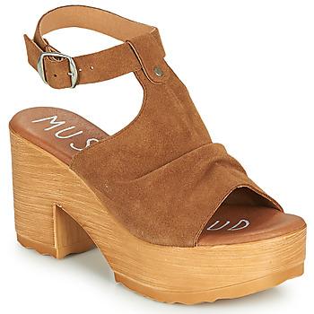 Chaussures Femme Sandales et Nu-pieds Musse & Cloud FOXY Cognac