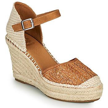 Chaussures Femme Espadrilles Xti SPARROW Cognac