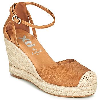 Chaussures Femme Espadrilles Xti NINA Cognac