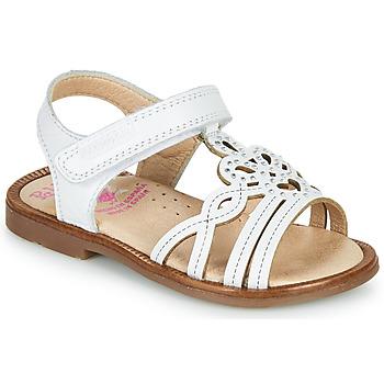 Chaussures Fille Sandales et Nu-pieds Pablosky MARIE Blanc