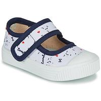 Chaussures Enfant Ballerines / babies Citrouille et Compagnie MY LOVELY BABIES Blanc imprimé