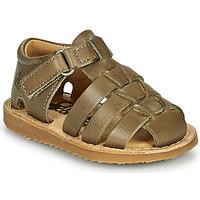 Chaussures Garçon Sandales et Nu-pieds Citrouille et Compagnie MISTIGRI Kaki