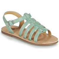 Chaussures Fille Sandales et Nu-pieds Citrouille et Compagnie MAYANA Turquoise