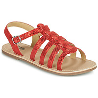 Chaussures Fille Sandales et Nu-pieds Citrouille et Compagnie MAYANA Rouge