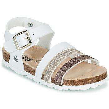 Chaussures Fille Sandales et Nu-pieds Citrouille et Compagnie OMAYA Blanc