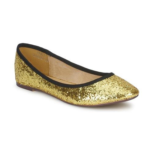 Chaussures Femme Ballerines / babies Friis & Company PERLA Doré
