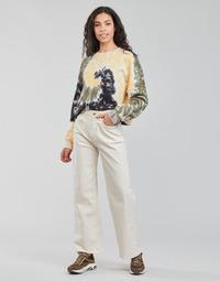 Vêtements Femme Jeans droit Pepe jeans LEXA SKY HIGH Blanc Wi5