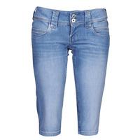 Vêtements Femme Pantacourts Pepe jeans VENUS CROP Bleu
