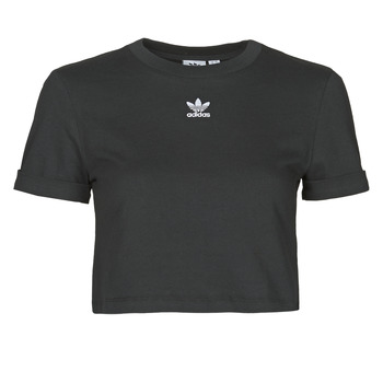 Vêtements Femme T-shirts manches courtes adidas Originals CROP TOP Noir