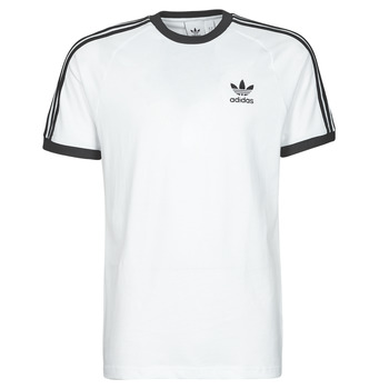 Vêtements Homme T-shirts manches courtes adidas Originals 3-STRIPES TEE Blanc
