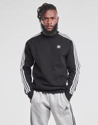 Vêtements Homme Sweats adidas Originals 3-STRIPES CREW Noir
