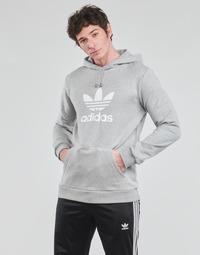 Vêtements Homme Sweats adidas Originals TREFOIL HOODIE Gris