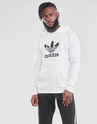Vêtements Homme Sweats adidas Originals TREFOIL HOODIE Blanc