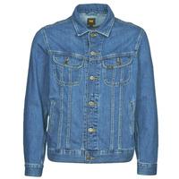 Vêtements Homme Vestes en jean Lee LEE RIDER JACKET Bleu