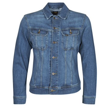 Vêtements Homme Vestes en jean Lee SLIM RIDER JACKET Bleu