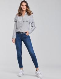 Vêtements Femme Jeans skinny Lee SCARLETT Bleu