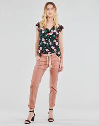 Vêtements Femme Pantalons 5 poches Le Temps des Cerises EZRA Marron