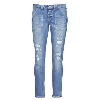 Vêtements Femme Jeans boyfriend Le Temps des Cerises CARA Bleu