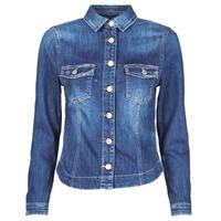 Vêtements Femme Vestes en jean Le Temps des Cerises LILLY Bleu