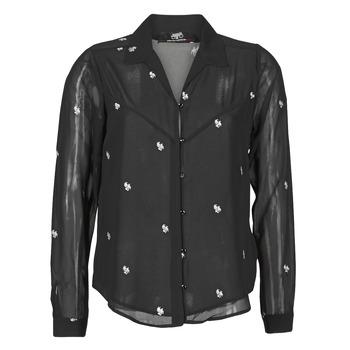 Vêtements Femme Tops / Blouses Le Temps des Cerises RUSSELA Noir