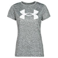 Vêtements Femme T-shirts manches courtes Under Armour TECH TWIST BL SSC Gris