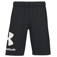 Vêtements Homme Shorts / Bermudas Under Armour UA RIVAL FLC BIG LOGO SHORTS Noir