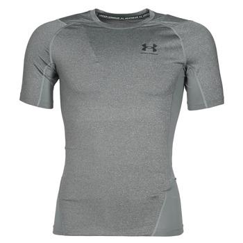 Vêtements Homme T-shirts manches courtes Under Armour UA HG ARMOUR COMP SS Gris
