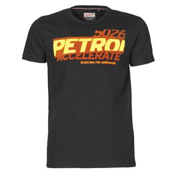 Vêtements Homme T-shirts manches courtes Petrol Industries T-SHIRT SS R-NECK F Noir