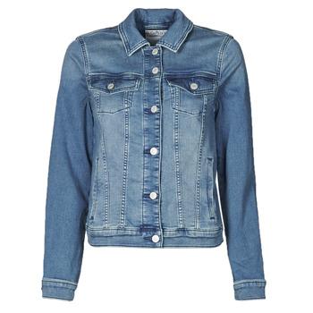 Vêtements Femme Vestes en jean Esprit JOGGER JACKET Bleu
