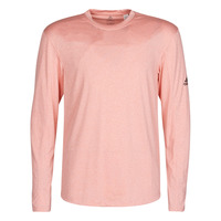Vêtements Homme T-shirts manches longues adidas Performance CITY HTR LS TEE Rose